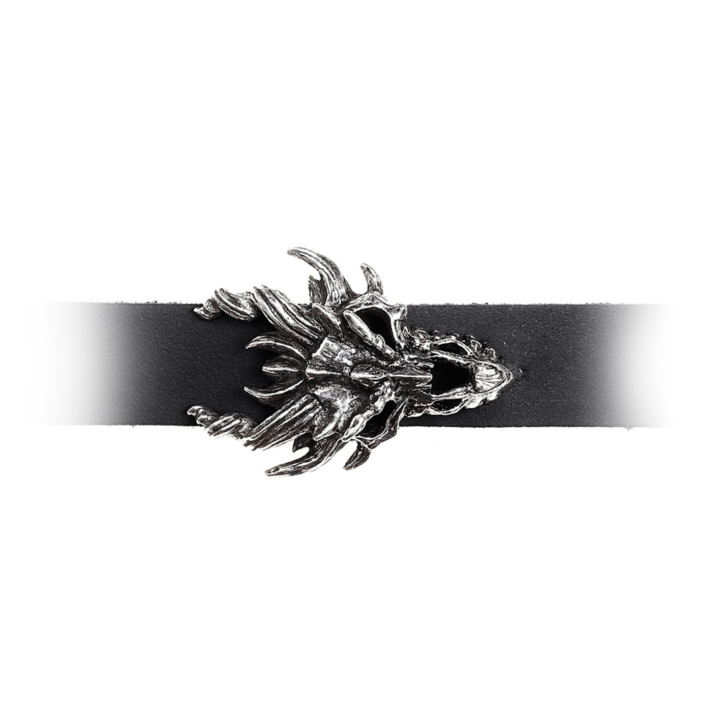 A137 - Dragon Skull Wriststrap