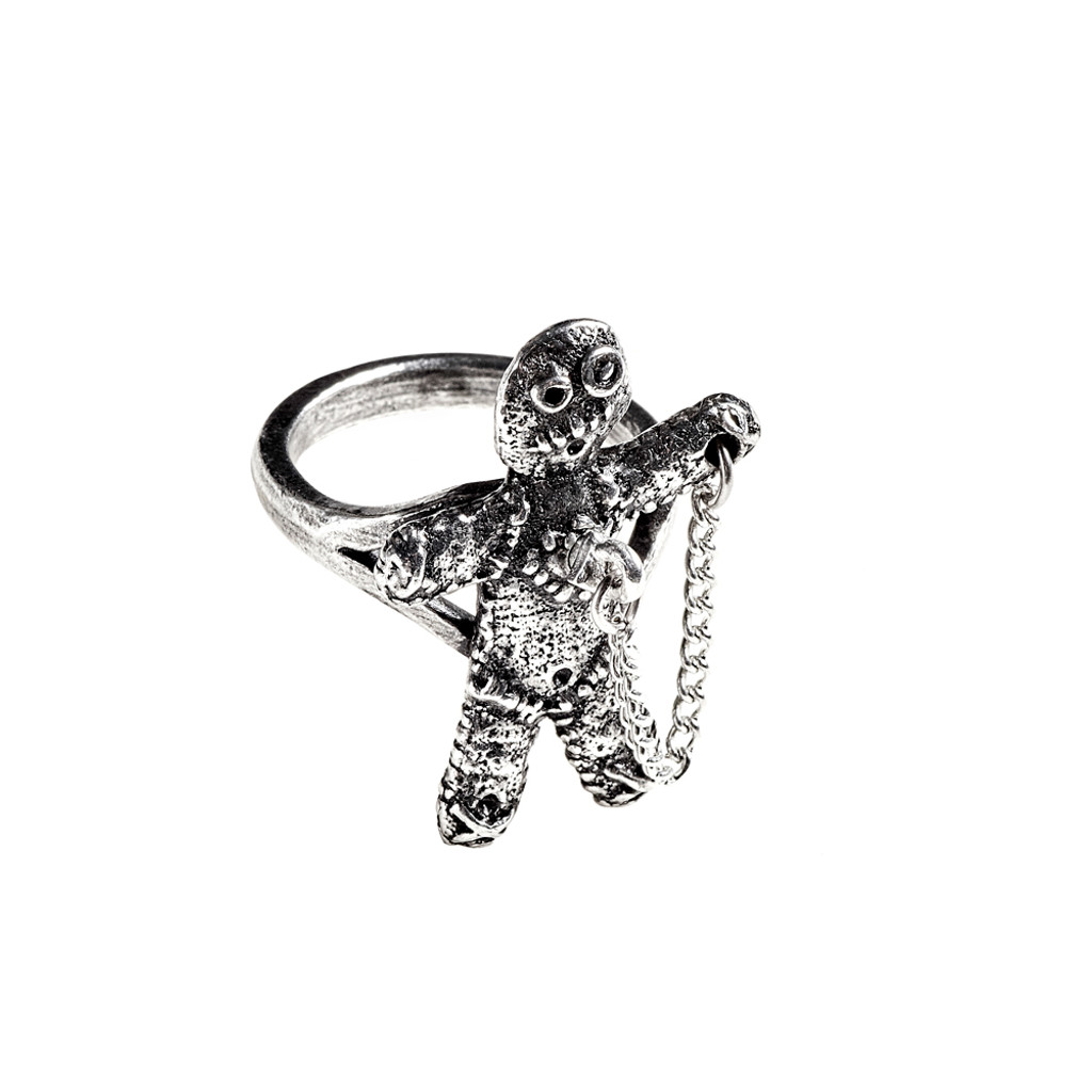 R236 - Voodoo Doll Ring (N-W)