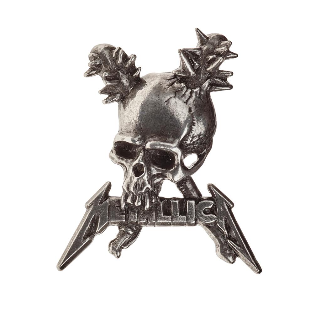 PC506 - Metallica Damage Inc Skull Pin