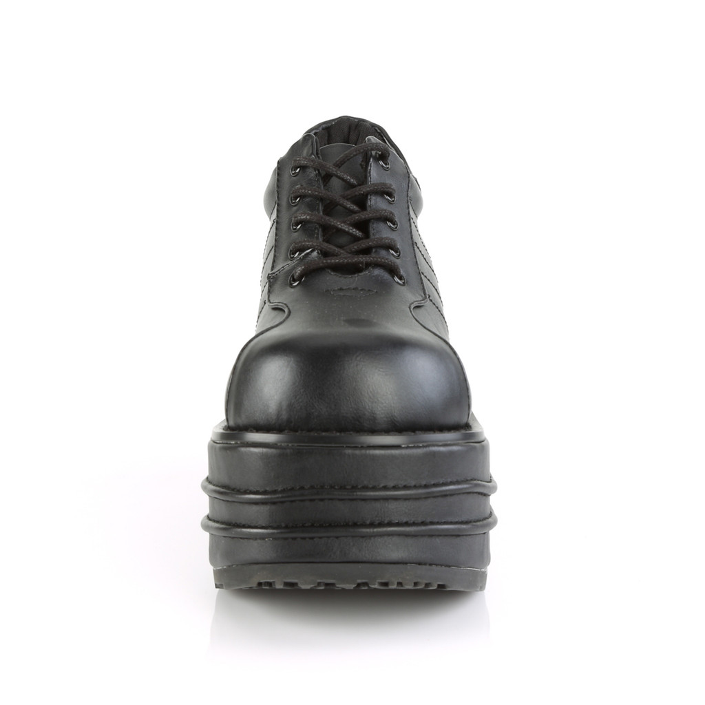 TEM08/BVL - Demonia Tempo 08 Black Vegan Leather