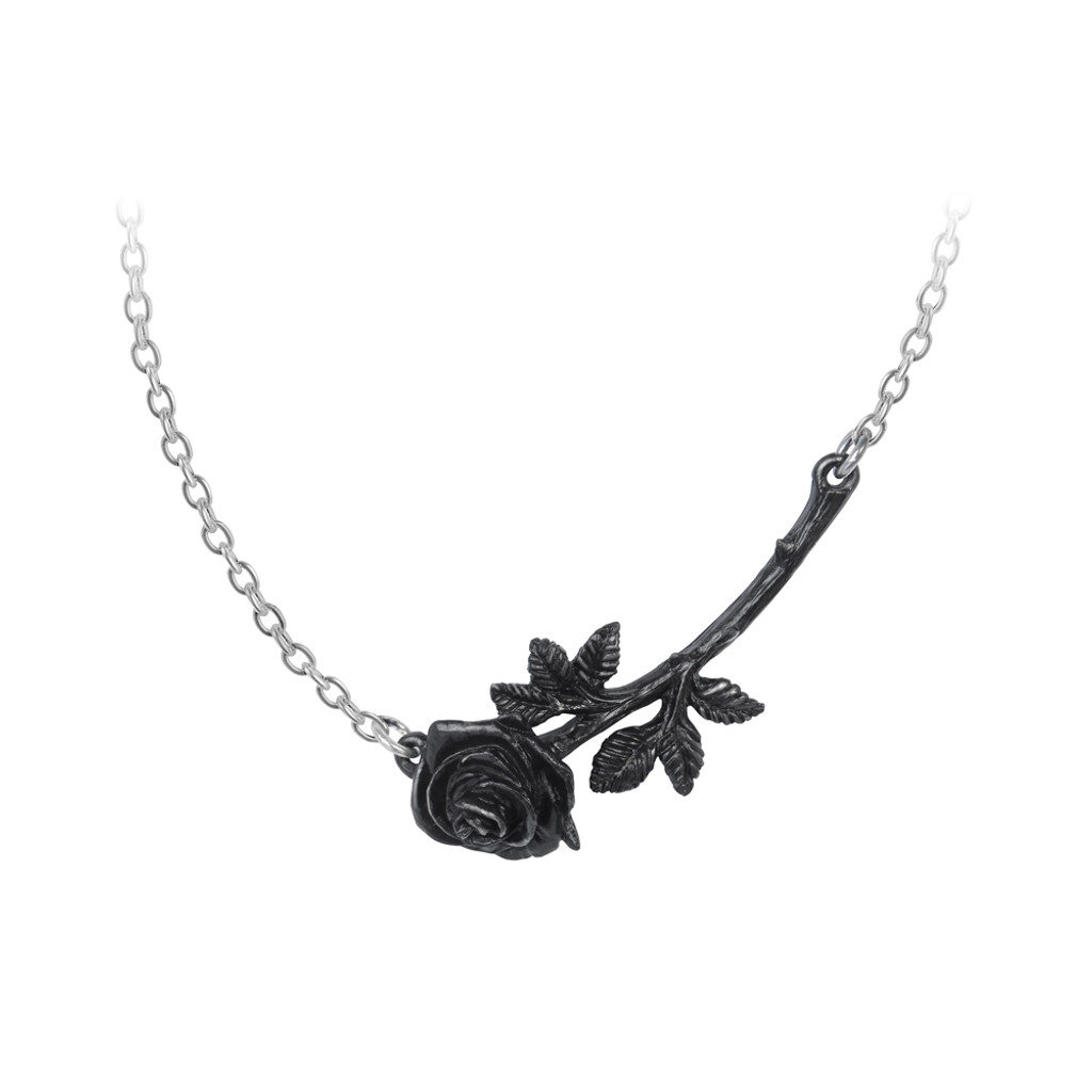 P913 - Black Thorn Necklace