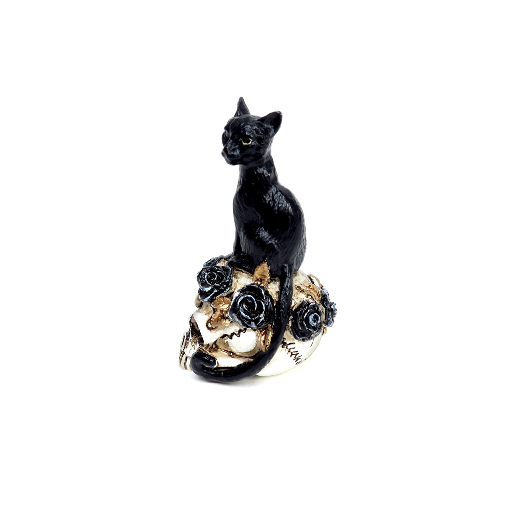 VM3 - Black Cat Skull Miniature