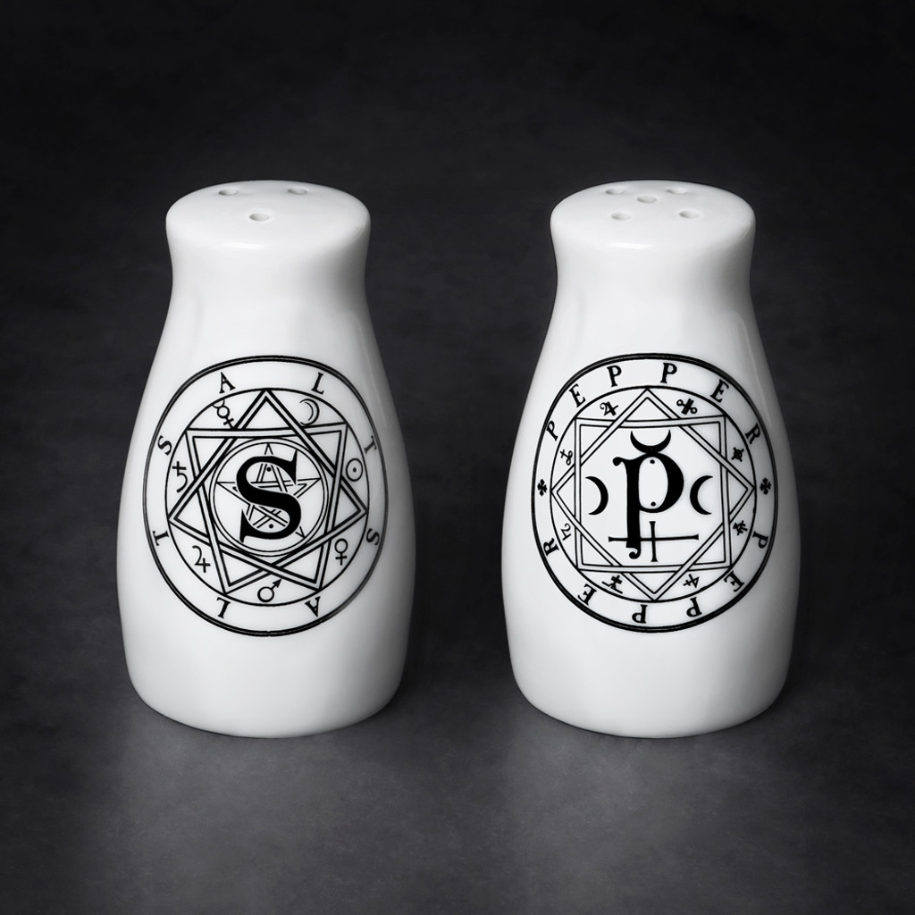 MRSP1 -  'S' & 'P' Salt & Pepper set