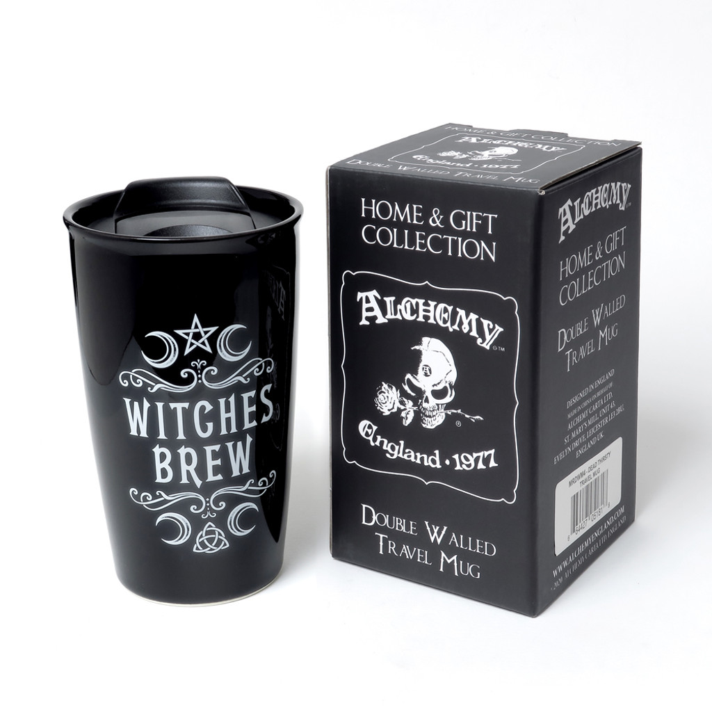 MRDWM1 - Crescent Witches Brew Double Walled Mug