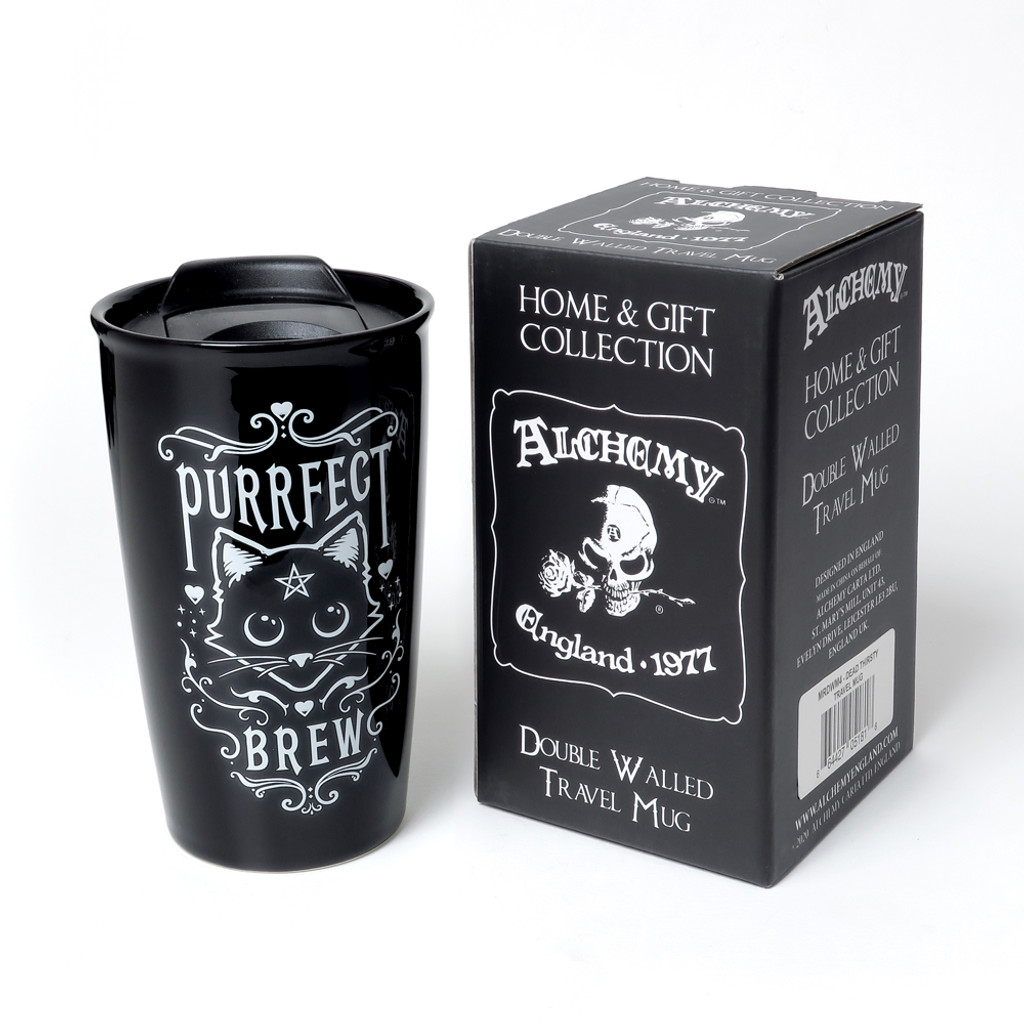 MRDWM3 - Purrfect Brew Double Walled Mug