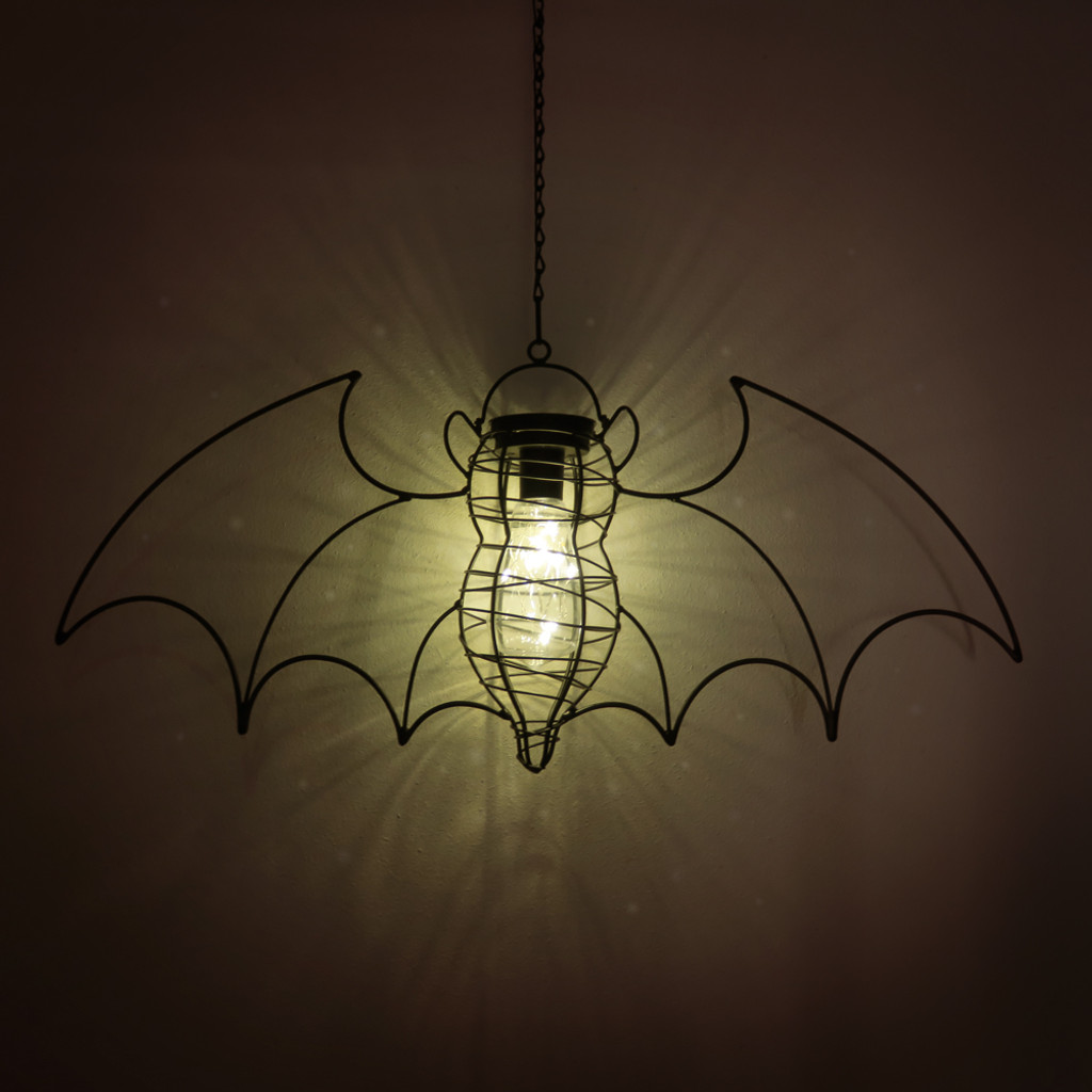 GL-QZ1 - Solar Powered Bat Lantern Light