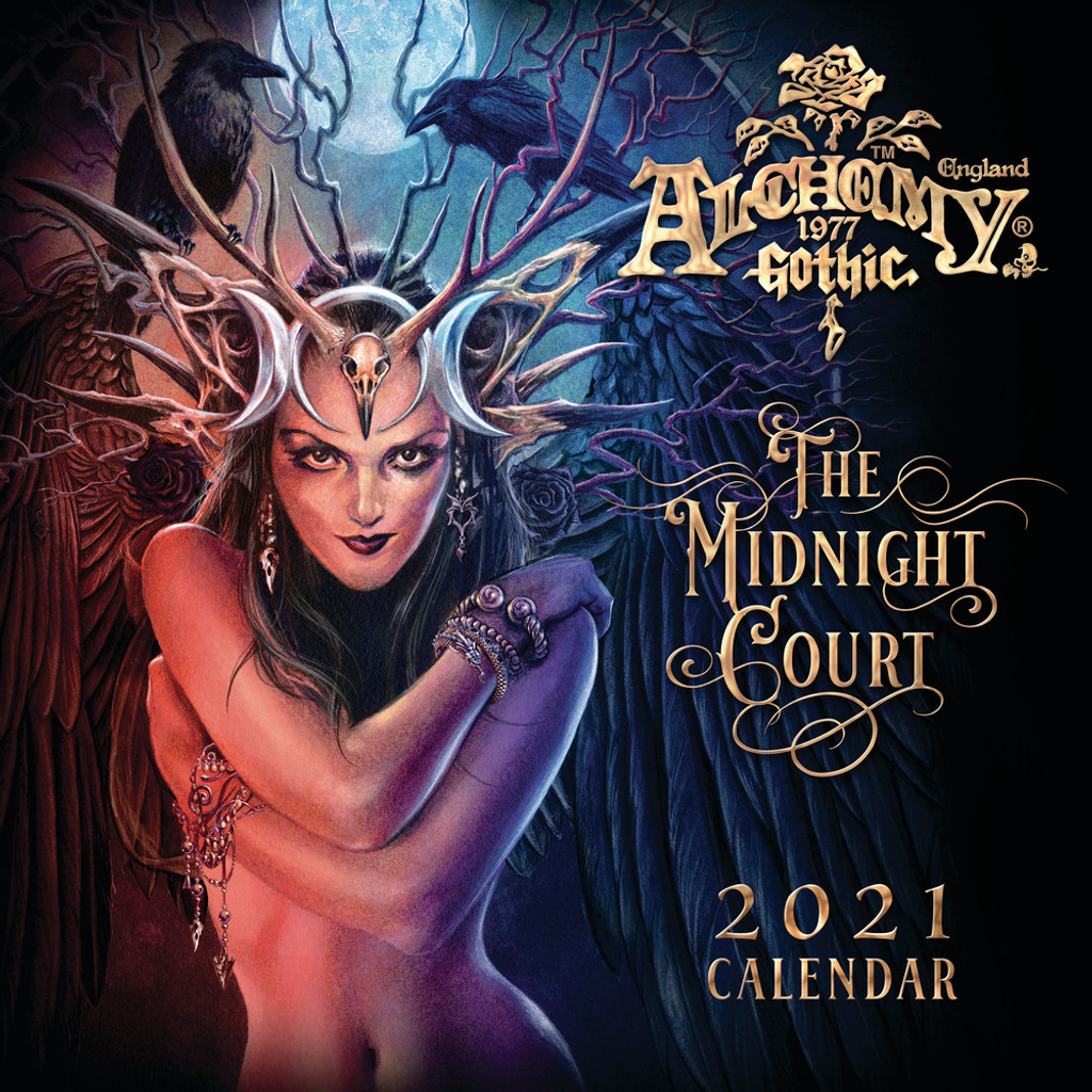 CAL21 - Alchemy Gothic 'The Midnight Court' 2021 Wall Calendar