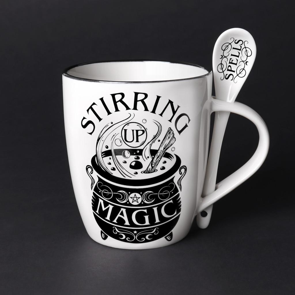 ALMUG22 - Stirring Up Magic Mug & Spoon Set