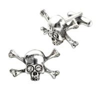 CL10 - Skull N Bones Stargazer Cuff Links