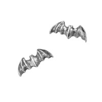 E186 - Bat Stud Earrings