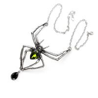 P432 - Emerald Venom Necklace