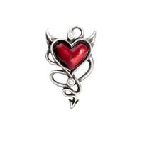 ULFHSC1 - Devil Heart Hair Screw