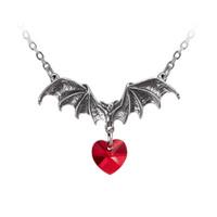 P802 - Vampire Loveheart Pendant