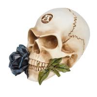 V44 - Black Rose Alchemist Skull