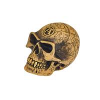 V48 - Omega Skull Paperweight/Gear Knob