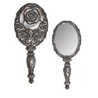 V58 - Baroque Rose Hand Mirror
