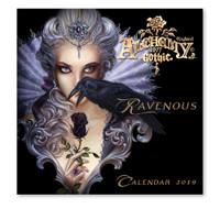 CAL19 - Alchemy Gothic 'Ravenous' 2019 Wall Calendar