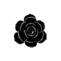 SCR2 - Black Rose Candle Holder