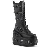 SWI327/BVL - Demonia Swing 327 Black Vegan Leather