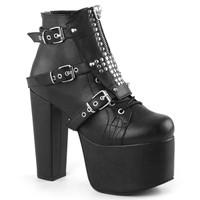 TOR713/BVL - Demonia Torment 713 Black Vegan Leather