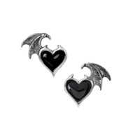 E444 - Blacksoul Ear Studs
