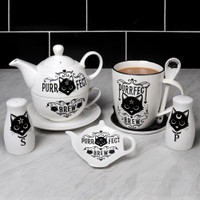 ALMUG20 - Purrfect Brew Cup and Spoon
