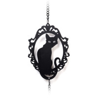 HD20 - Feline Silhouette Hanging Decoration