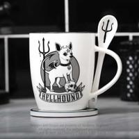 ALMUG24- Hellhound Mug & Spoon Set