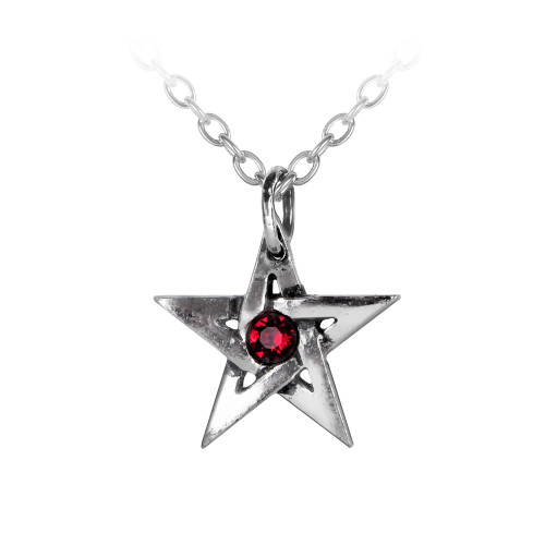 P365 - Crystal Pentagram Pendant