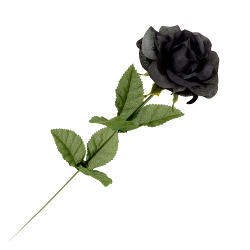 ROSE1 - Black Imitation Rose