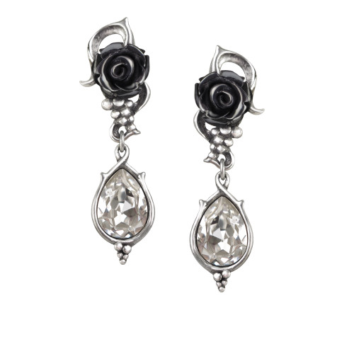 E347 - Bacchanal Rose Earrings