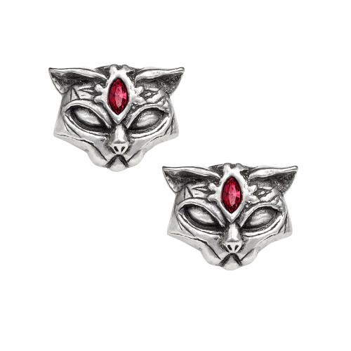 E406 - Sacred Cat Earrings