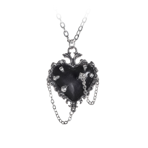 P855 - Witches Heart Pendant