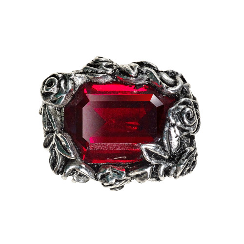 R227 - Blood Rose Ring