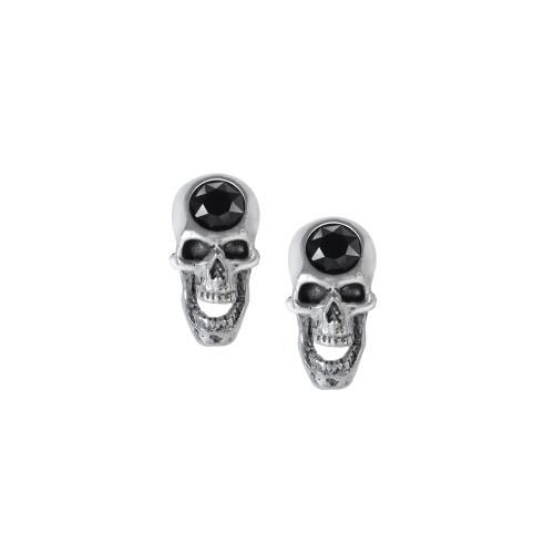 E427 - Screaming Skull Studs
