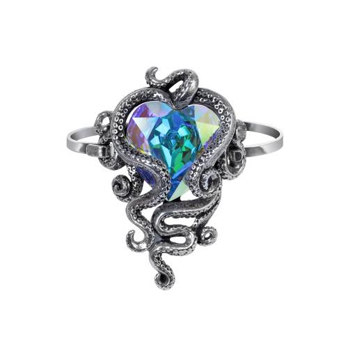 A133 - Heart Of Cthulhu Sprung Bracelet
