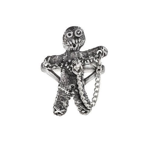 R236 - Voodoo Doll Ring (N-W)