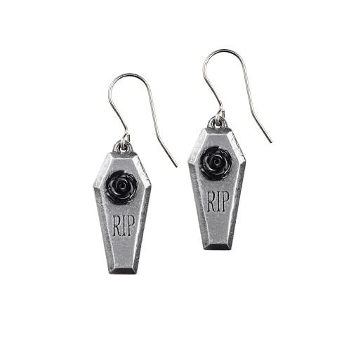 E432 - RIP Rose Earrings