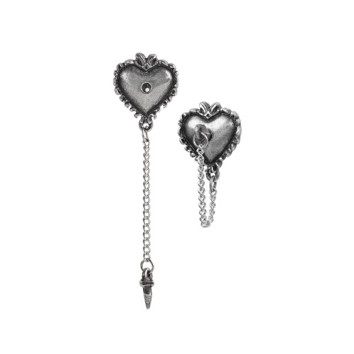 E433 - Witches Heart Studs