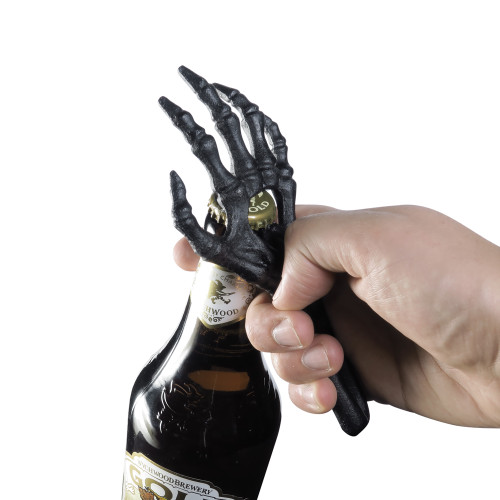 SBO2 - Skeletal Hand Bottle Opener (Black)