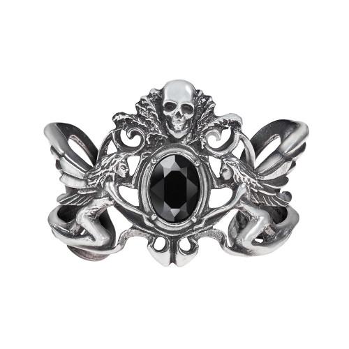 A69 - La Fleur de Baudelaire Bracelet Black