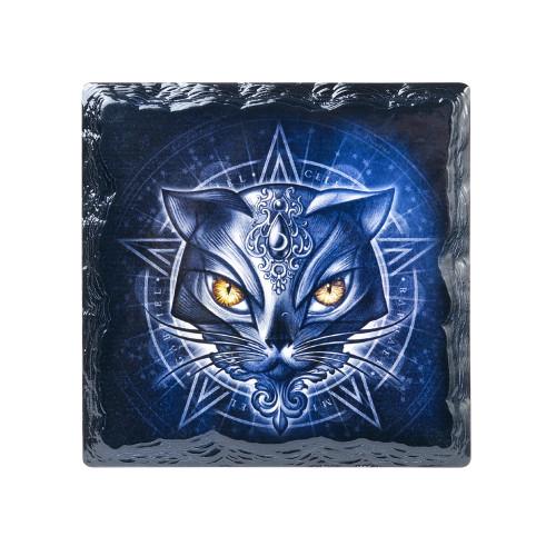 CC13 - Alchemicat Slate Coaster