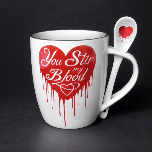 ALMUG18 - You Stir My Blood Cup and Spoon