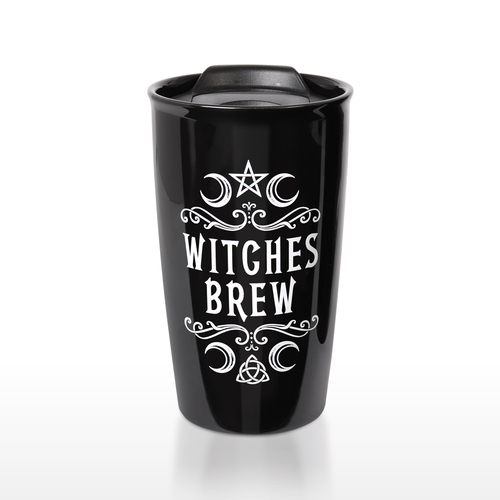 MRDWM1 - Crescent Witches Brew Double Walled Mug