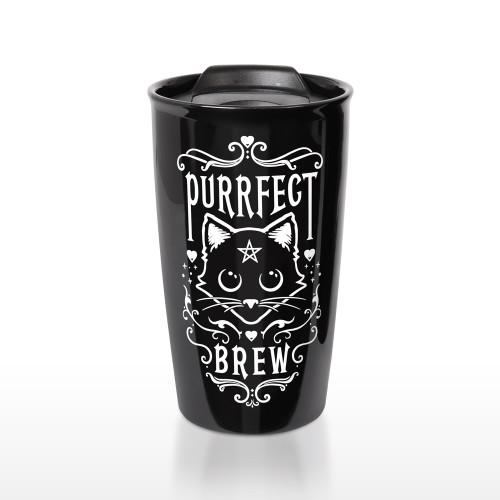 MRDWM3 - Purrfect Brew Double Walled Mug