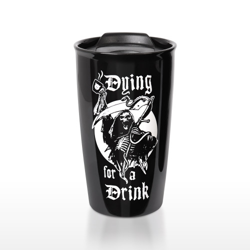 MRDWM5 -Dying for a Drink Double:Walled Mug