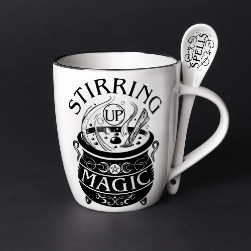 ALMUG22 - Stirring Up Magic Mug & Spoon Set