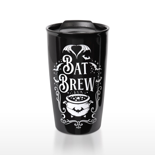 MRDWM6 - Double Walled Mug: Bat Brew