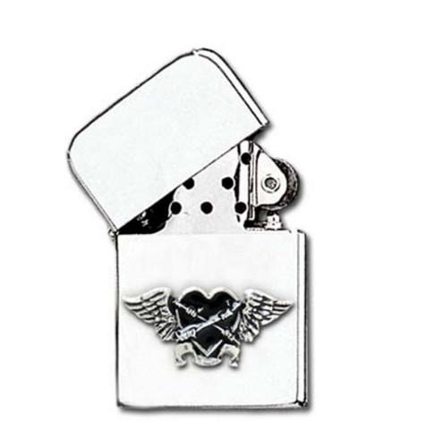 AAZ45- Black Heart Lighter