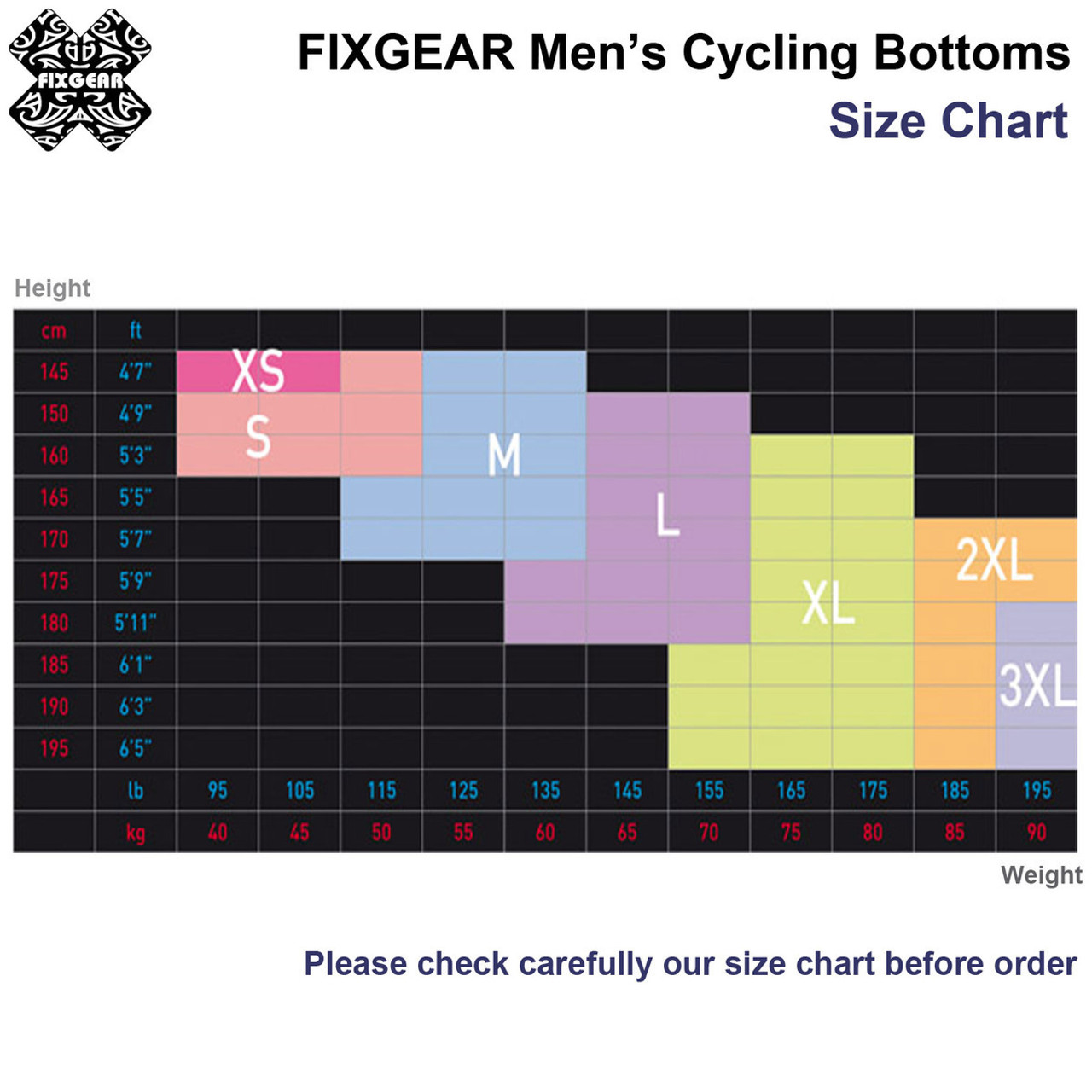 Details about  /FIXGEAR CS-2602-SET Cycling Jersey /& Padded Shorts MTB Bike BMX Bicycle Wear